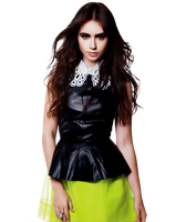Lily Collins PNG/Render by magic-falls