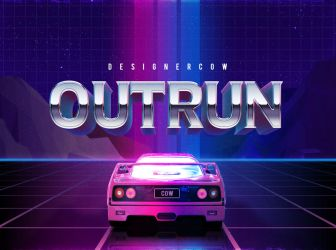 80's Text Effect V3 05 by designercow