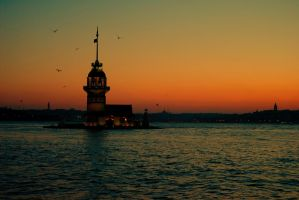 maiden tower-istanbul by oeminler