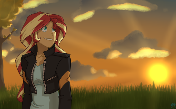 Sunset by Bluty21