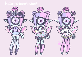[outfit set] - MadamTea by hello-planet-chan