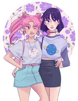 Interstellar Girlfriends by LEmoNmerANGuE