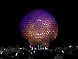 Night in Epcot by takuya36diablo
