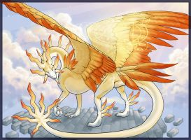 Solar Dragon by Firequill