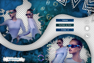 Pack png Rihanna|09 by BrightClouds