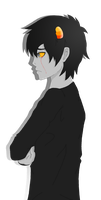 Crying Karkat by horsejumperami
