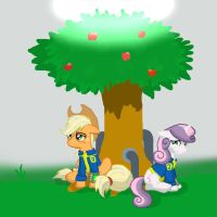 F:E Fates -- Applejack by tomcullen