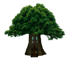 Png Tree House by Moonglowlilly