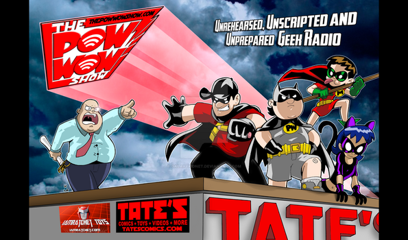 Pow Wow at Tate's Comics by galaxykidnet