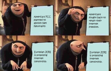 Net Neutrality Gru Meme by Ipku