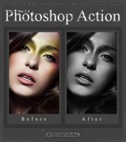 Photoshop Action Ver. 2.0 by General1991