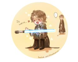 How to use lightsaber in the winter... by MonneKiakia