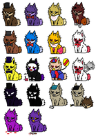 FNAF Themed Dog Adopts *2/18 OPEN* by The-Cipher-Dog