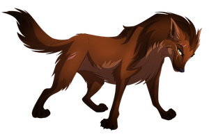 Bay Based Wolf Commission by albinoraven666fanart