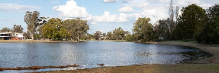 Lake Forbes Panorama by ant-lion