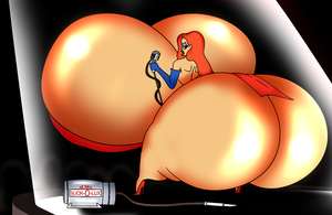 Jumbo Jessica Rabbit by MrPr1993
