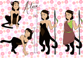 Adara Ref Sheet by curiousdoodler