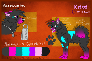 Krissi Official Reference Sheet (2014) by Krissi2197