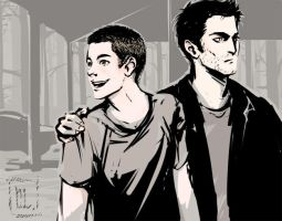 sterek stuff by Roncheg