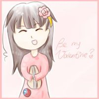 Be my Valentine? *APH-Taiwan* by MischievousRibbon