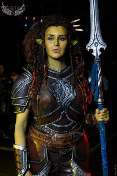 Warcraft movie - Garona cosplay from Epic Con by ver1sa
