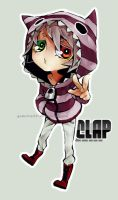 Chibi Commission: Clap by godzilla23