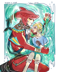 Sidon x Link..!! by NathyLove5