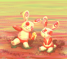 Spinda's Gift from the Village