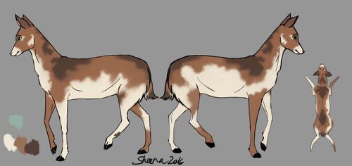 Sheena reference sheet 2016 by Scheq