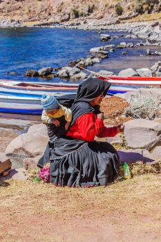 Tequile Island - Woman and Baby by TarJakArt