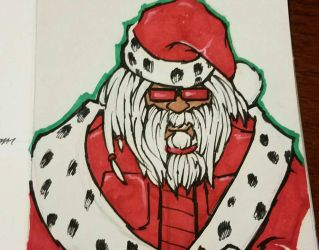 Cool Santa Clause by the-fallen-one3