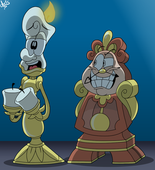 Beauty And The Beast Screenshot Redraw 8 by GreenCowBandannas