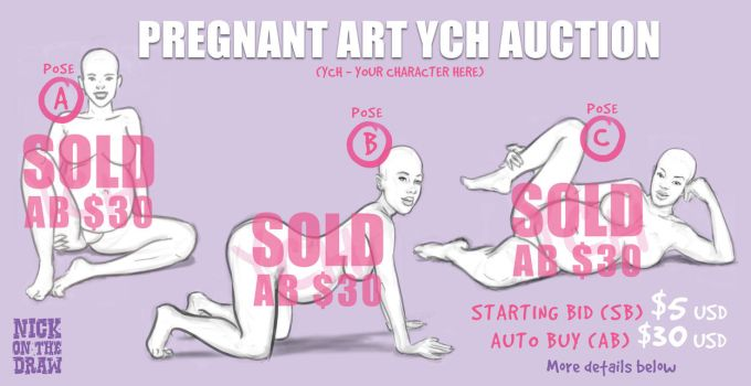 Preggo Art Auction **CLOSED** by nickonthedraw