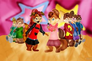 Seven singers-Request by brittanyandalvin