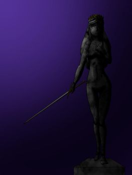 Sculpture in Shadows by Dvega by Master-Geass