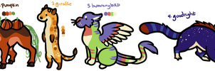 Doodle Adopts: CLOSED by Yellow-K9