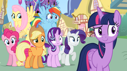 Twilight Sparkle Introduces her Friends by DashieMLPFiM