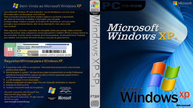 Dvd Windows Xp by Fabiocollection