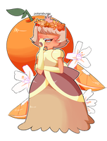 oranges-padparadscha by sunnybunnii