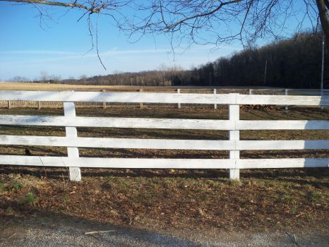 Horse Fence - Stock by Lovely-DreamCatcher
