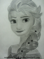 Elsa - Frozen by noname144able