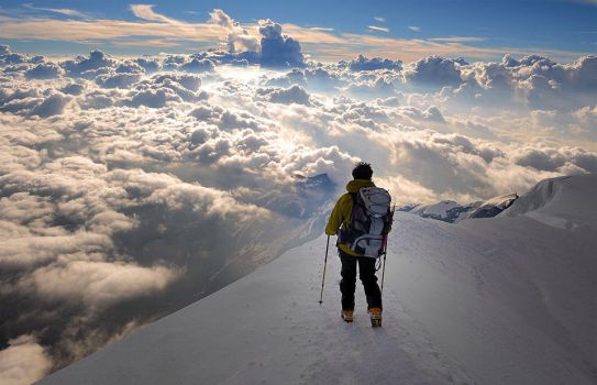 Heavenly View from the Alps by renoviolaoutdoors