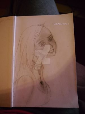 First sketch in 13 yearsss xD by laylapersia