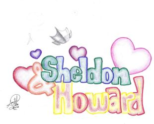Sheldon and Howard by OBLARM