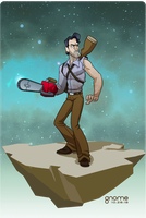 Ash Williams by gnome-oo