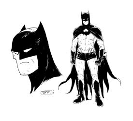 Batman Design by Alec-M