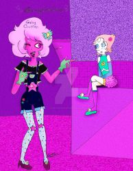 Pink Diamond is cool by GabyCoutino