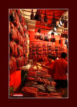 The Chinese Sausage Shop by semota