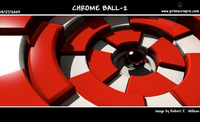 Chrome ball 2 by XFozzboute