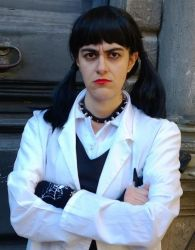 Abby Sciuto is going to give a punch by FrancescaNekoryu